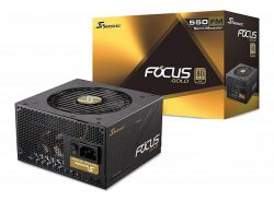 SEASONIC FOCUS FM-550 (550W 80 Plus Gold)