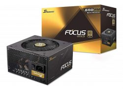 SEASONIC FOCUS FM-650 (650W 80 Plus Gold)