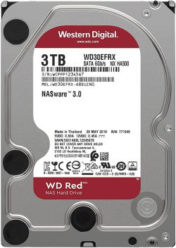 HDD WD 3.0 -TB  WD30EFRX (Caviar Red)