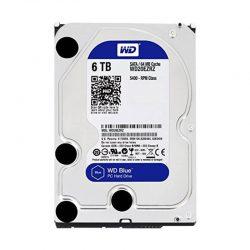Ổ cứng WD HDD 6TB 3.5″ SATA 3/64MB Cache/ 5400RPM- Caviar Blue