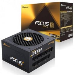 SEASONIC FOCUS PLUS FX-650 (650W 80 Plus Gold)