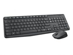 Bộ bàn phím chuột không dây Logitech MK235