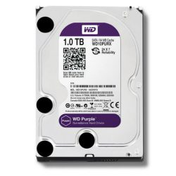 WD HDD Purple 1TB 3.5″ SATA 3/ 64MB Cache/ IntelliPower (5400RPM-5900RPM)