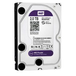 WD HDD Purple 2TB 3.5″ SATA 3/ 64MB Cache/ IntelliPower (5400RPM-5900RPM)