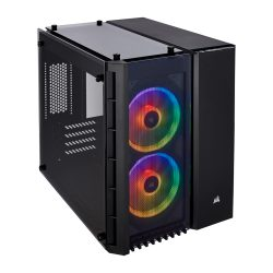 CORSAIR CRYSTAL 280X RGB BLACK (M-ATX)