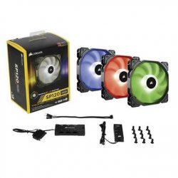 Quạt Case Corsair FAN SP 120 RGB LED – Hộp 3 FAN – with controller (CO-9050061-WW)
