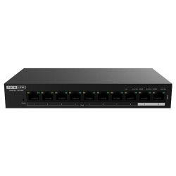 SW1008P – 10-Port 10/100Mbps PoE Powered Switch