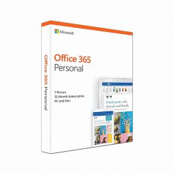 Office 365 Personal English APAC EM Subscr 1YR Medialess P4 (QQ2-00807)