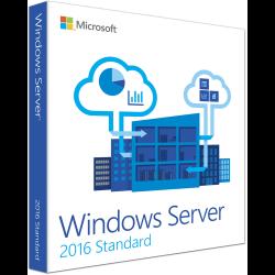 Windows Svr Std 2016 64Bit English 1pk DSP OEI DVD 16 Core( P73-07113 )