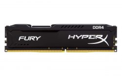 KINGSTON HYPERX FURY 8GB DDR4 2666Mhz BLACK