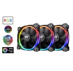 Combo 3 Quạt Làm Mát Riing 12 LED RGB