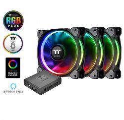 Quạt Làm Mát Riing Plus 12 RGB (Bộ 3 Fan + hub)