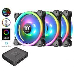 Quạt Làm Mát Riing Trio 12 LED RGB (Bộ 3 Fan + hub)