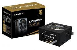 GIGABYTE G750H – 750W, 80 Plus Gold, Semi Modula