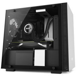 NZXT H200i SMART ATX CASE ( BLACK / RED )