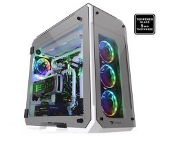 Case Thermaltake View 71 Tempered Glass Snow Edition