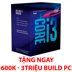 Intel Core i3-9100 (3.6GHz up to 4.20GHz/ 4 nhân 4 luồng/ Sk 1151v2)