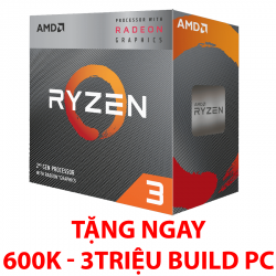 AMD RYZEN 3 3200G (3.6GHz up to 4.0GHz/ 4 nhân 4 luồng/ Radeon Vega 8)