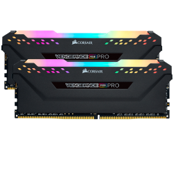 CORSAIR VENGEANCE RGB PRO 16GB (2x8GB) 3200MHz WHITE (CMW16GX4M2C3200C16)