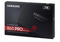 SSD SamSung 860 PRO 2TB / 2.5″ SATA III