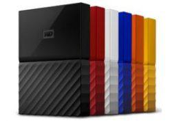 Ổ cứng WD My Passport – 4TB (Black White Red Yelow Orange Blue)