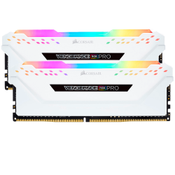 CORSAIR VENGEANCE RGB PRO 16GB (2x8GB) 3000MHz White