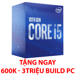 Intel Core i5-10400F (2.9 up to 4.3GHz/ 6 nhân 12 luồng/ sk 1200)