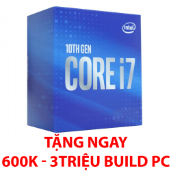 CPU Intel Core i7-10700F (2.9GHz turbo 4.8GHz, 8 nhân 16 luồng, 16MB Cache, 65W) – SK LGA 1200