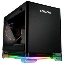 InWin A1 PLUS Case – Black, Kèm nguồn 650W 80Plus Gold, Sạc không dây Qi