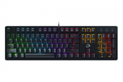 Bàn phím cơ Gaming DAREU EK1280s 104KEY (MULTI LED, Blue/ Brown/ Red D switch)