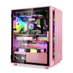 Vỏ Case Segotep Gank 5 (Pink/ Full ATX)