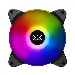 XIGMATEK GALAXY III ESSENTIAL – BX120 ARGB (EN45433): HUB FAN (PACK x3, CONTROLLER, POWER HUB)
