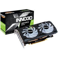 INNO3D GTX 1660 Super TWIN X2 OC (6GB GDDR6, 192-bit, HDMI+DP, 1×8-pin)