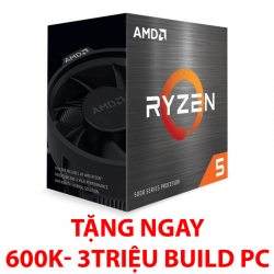 AMD RYZEN 5 5600X (3.7GHz up to 4.6GHz/ 6 nhân 12 luồng)