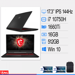 Laptop MSI GL75 Leopard 10SDR-495VN (V)