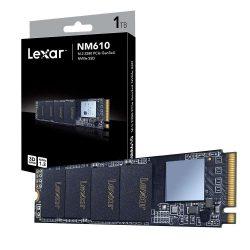SSD Lexar NM610 500GB Gen3x4 NVMe