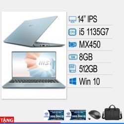 Laptop MSI Modern 14 B11SB-074VN (P)