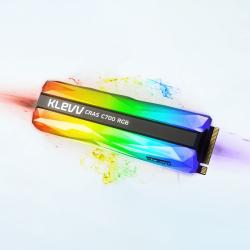 SSD Klevv CRAS C700 RGB 240GB M2 NVME Gen3x4