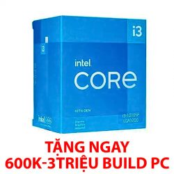 Intel Core i3-10105F (3.7GHz Turbo 4.4GHz, 4 nhân 8 luồng, 6MB Cache, 65W) – SK LGA 1200