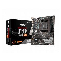 Mainboard MSI B450M-A PRO MAX (AMD B450, Socket AM4, m-ATX, 2 khe RAM DDR4)
