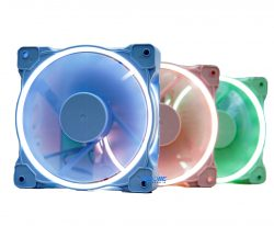 FAN CASE ID-COOLING ZF-12025 Pastel (Green/Pink/Blue)