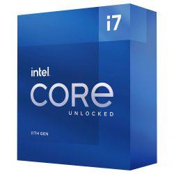 CPU Intel Core i7-11700K (3.3GHz Turbo 4.8GHz, 8 nhân 16 luồng, 20MB Cache, 125W) – SK LGA 1200