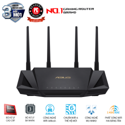 Router Gaming ASUS RT-AX58U Wifi 6 – AX3000