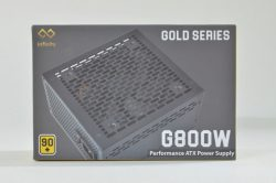 Infinity Gold G800W – 80 Plus Gold – Active PFC