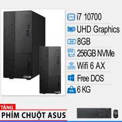 Máy tính để bàn Asus D500MA-7107000100 (i7-10700/8G RAM/256 GB SSD/WL+BT/K+M/No OS)
