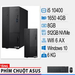 Máy tính để bàn ASUS D700TA-510400026T (CORE I5-10400/8G RAM/512GB SSD/GF GTX1650 4GB/WIN 10 HOME)