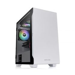 Case Thermaltake S100 Tempered Glass Snow Edition