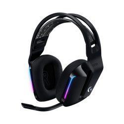 Tai nghe Gaming Logitech G733 LIGHTSPEED Wireless Black