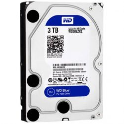 Ổ cứng WD HDD Blue 3TB 3.5″ SATA 3/64MB Cache/ 5400RPM
