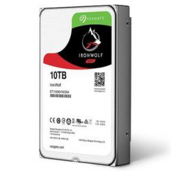 HDD Seagate Ironwolf 3.5″ 10TB (256MB) HD7200 Rpm